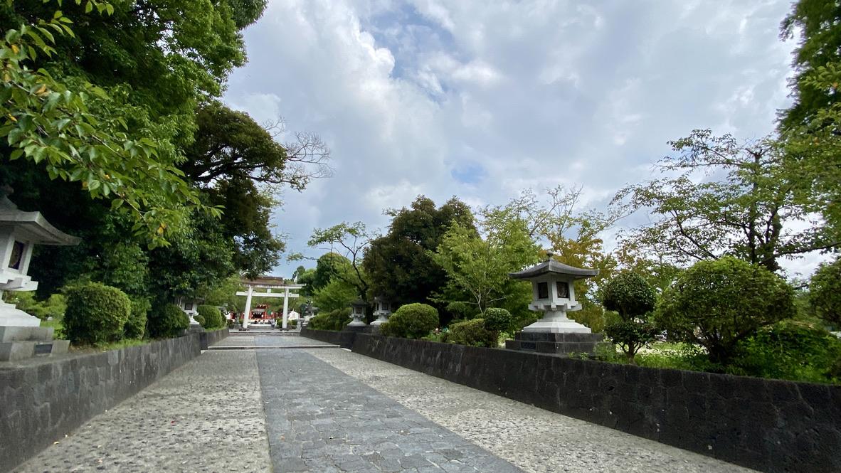 浅間大社の参道