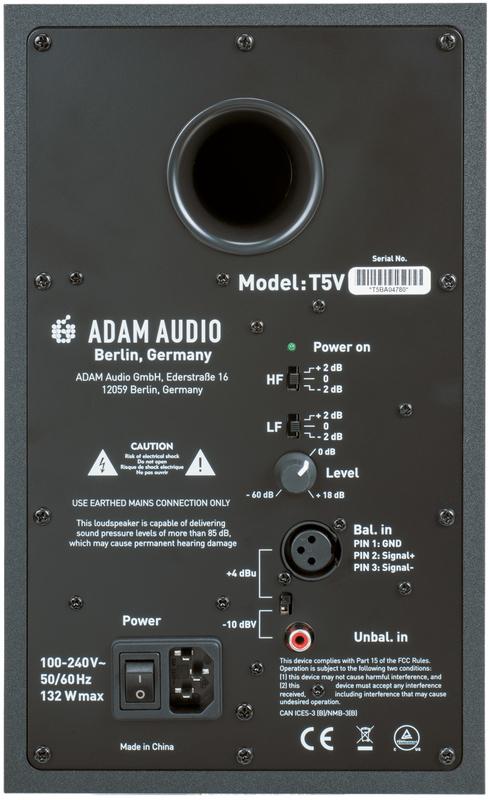 ADAM AUDIO T5V/T7V Rear