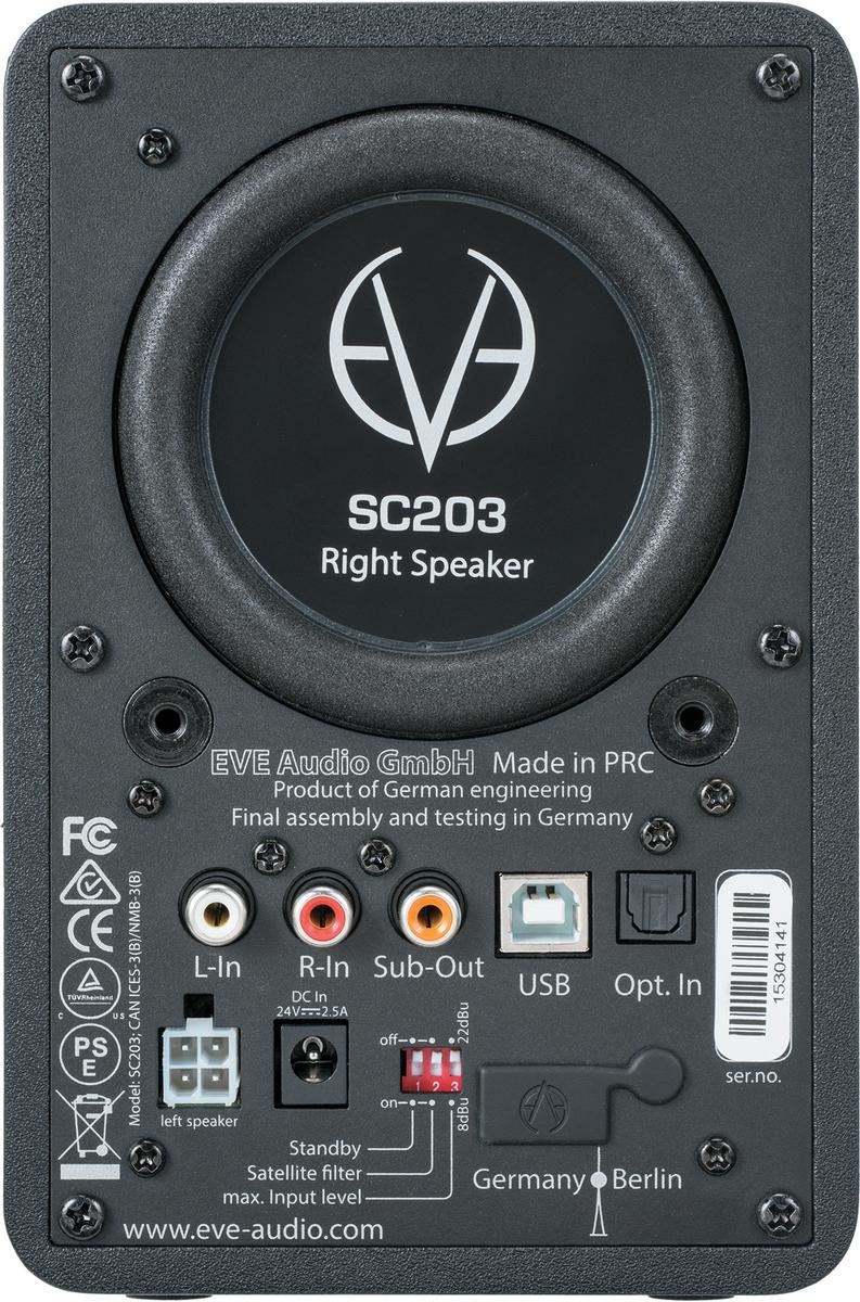 SC203 Rear