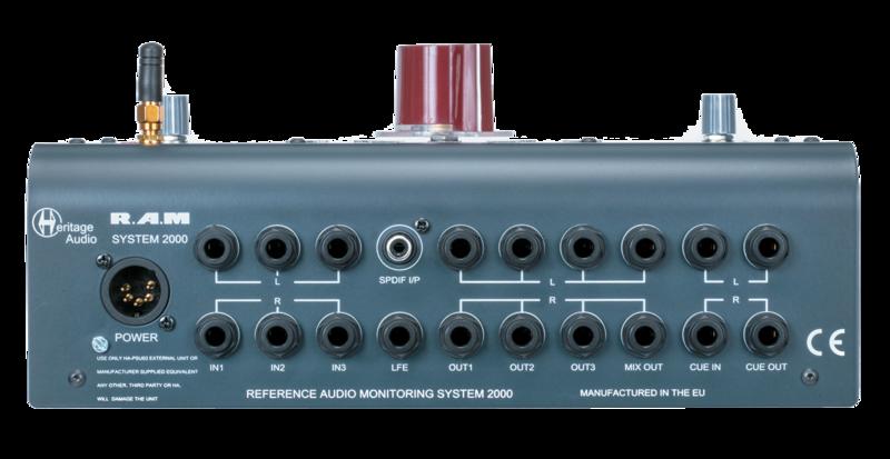 HERITAGE AUDIO RAM System 2000 リア