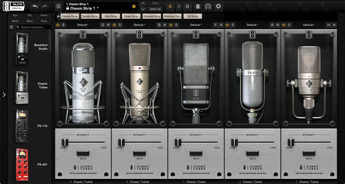 SLATE DIGITALが専用の単一指向性コンデンサー・マイク向けのプラグイン「Classic Tubes 3」を発売