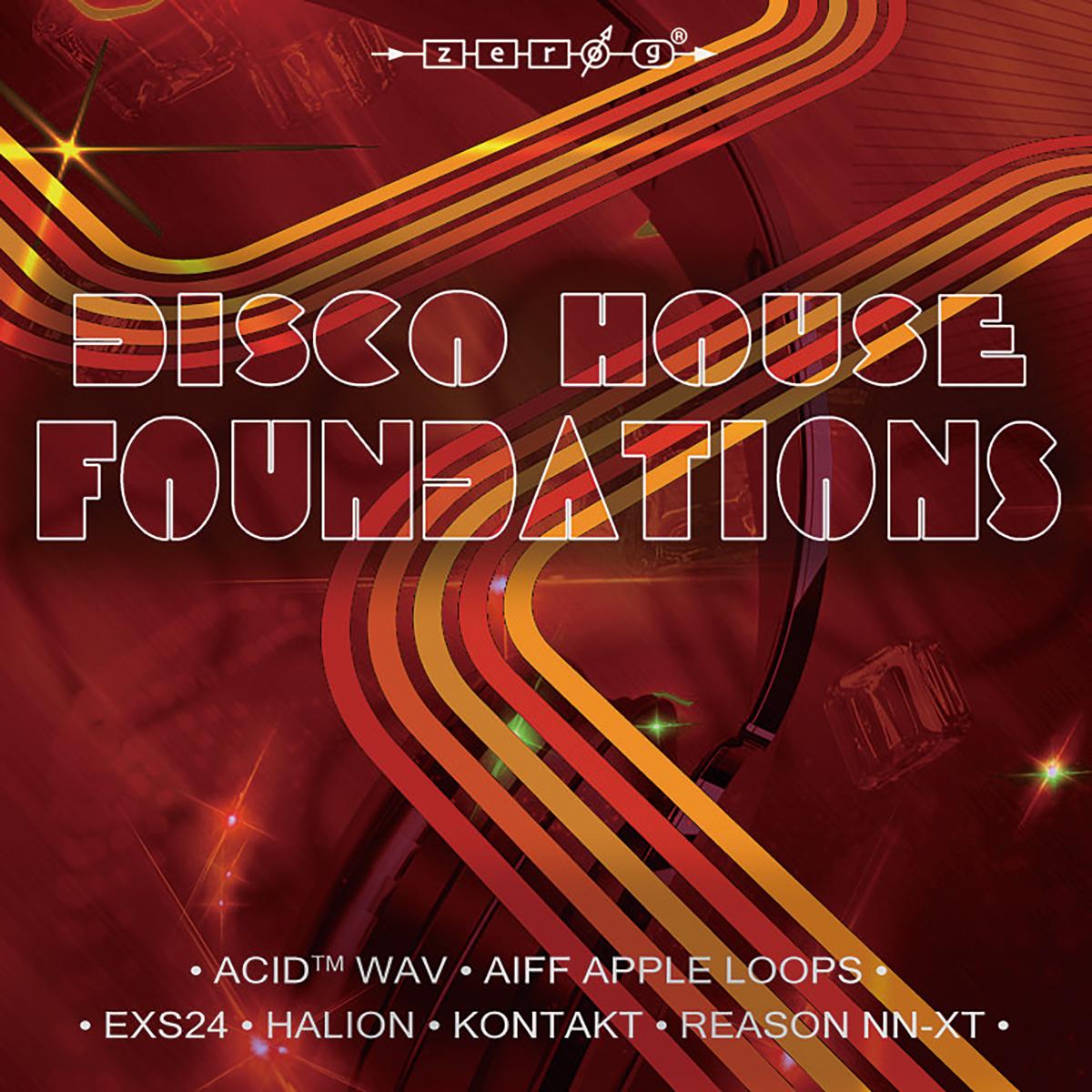 イギリスのメーカーZERO-Gからリリースされた音源ライブラリー『DISCO HOUSE FOUNDATIONS』