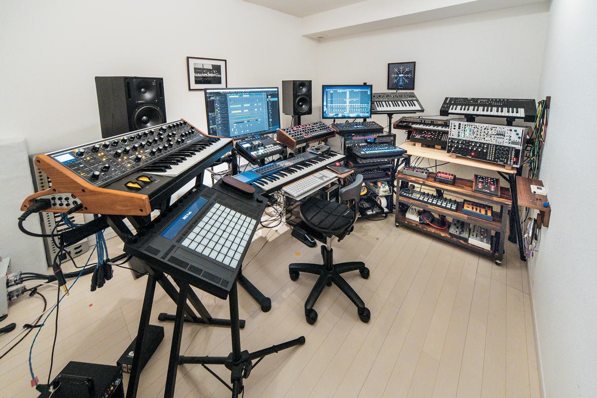 Yuichiro Kotaniのプライベート・スタジオ
