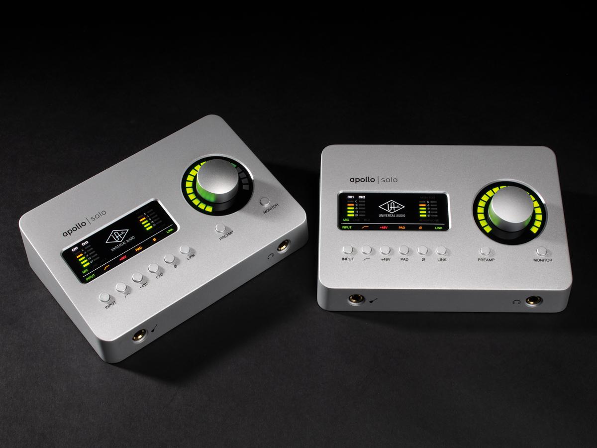 オーディオインターフェイス「ApolloSolo」と「Apollo Solo USB」