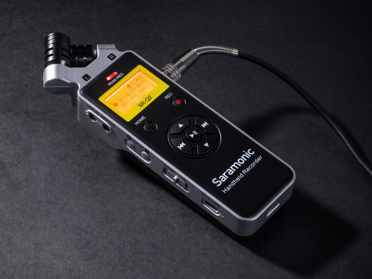 SARAMONICからPCMレコーダー「SR-Q2」が発売