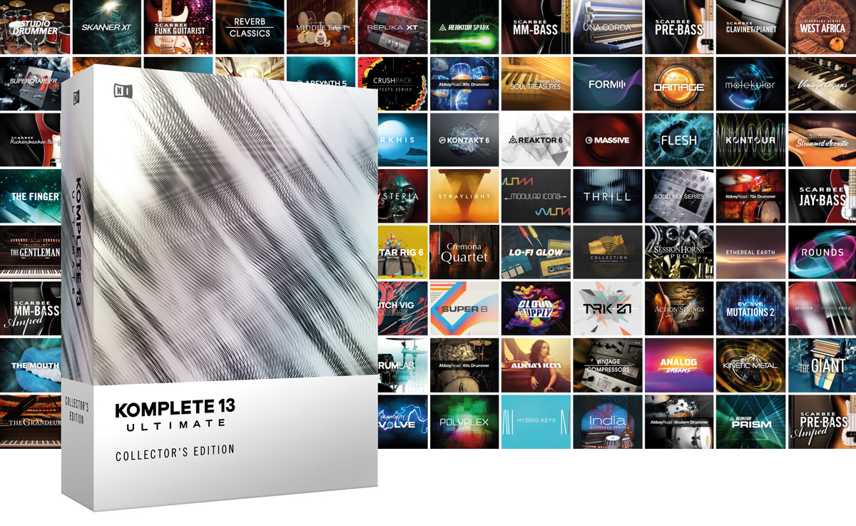 「Komplete 13」をNATIVE INSTRUMENTSが発売