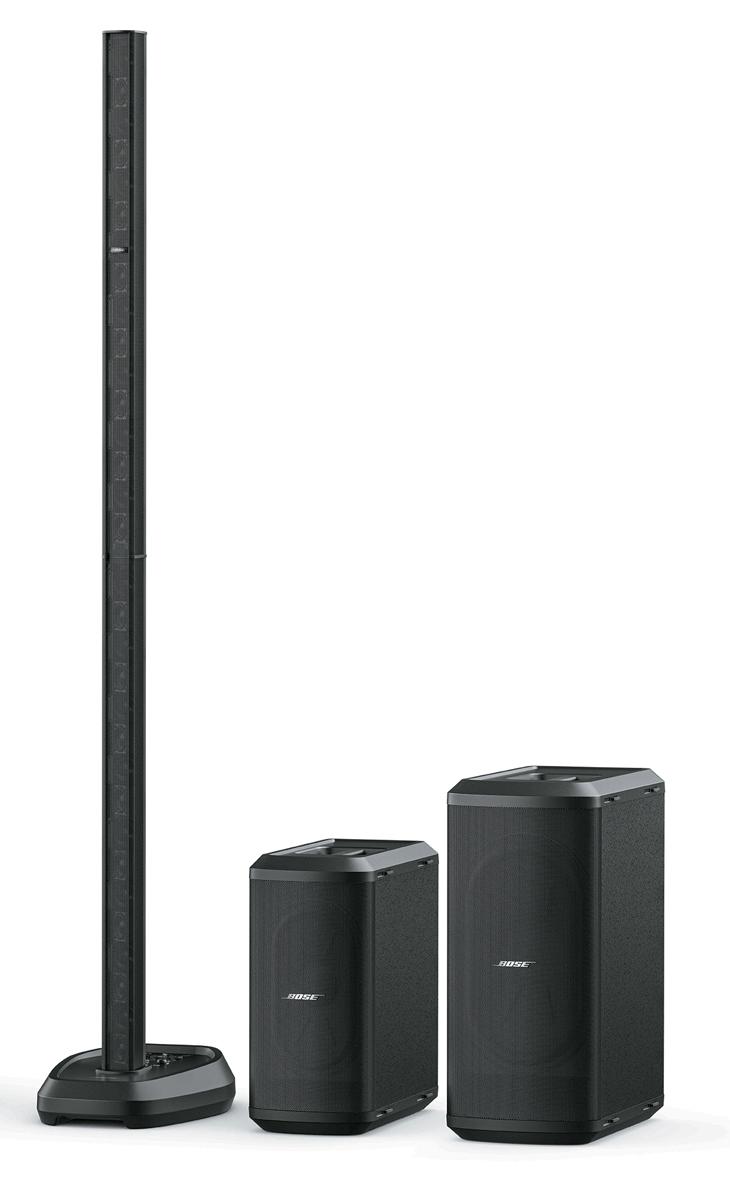 L1 史上最も高性能なモデル。32 基の2インチ・アーティキュレーテッド・ネオジム・ドライバーで構成された直線型ラインアレイと、7×13インチのSub1、10×18インチのSub2という2タイプのサブウーファーで構成される。専用ケーブルを用いるSubMatchによってSub1、Sub2 への電源供給とオーディオ出力を同時に賄うことが可能。Sub2との組み合わせで最大128dB SPL(ピーク)の大音圧が得られる。Sub1、Sub2は単体でも発売され、2台接続した際にはカーディオイド・モードの使用も可能。またSub1、Sub2は汎用パワード・サブウーファーとして使えるよう、クロスオーバーを内蔵する