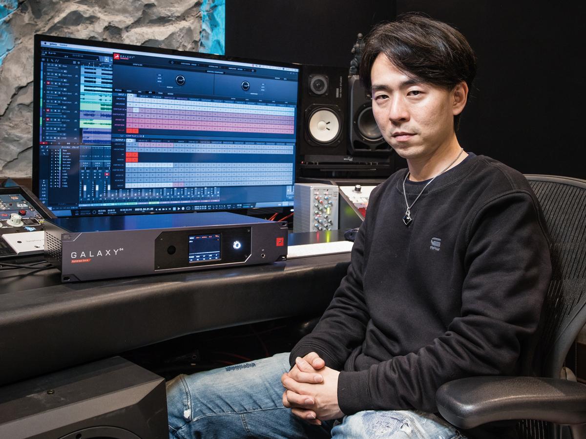 オーディオインターフェース「Galaxy 64 Synergy Core」をHiro氏がテスト
