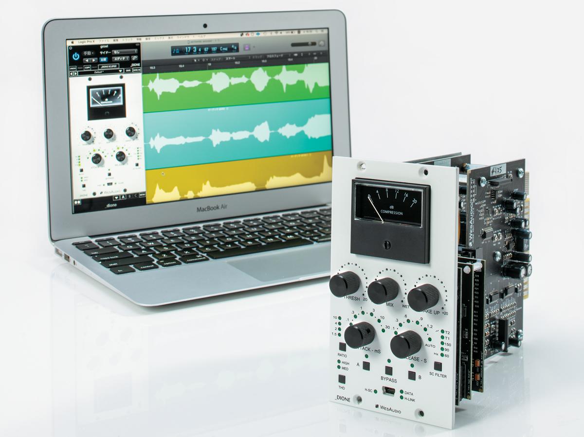ポーランドで設立されたWESAUDIOのプラグインで制御可能なアウトボードを紹介する