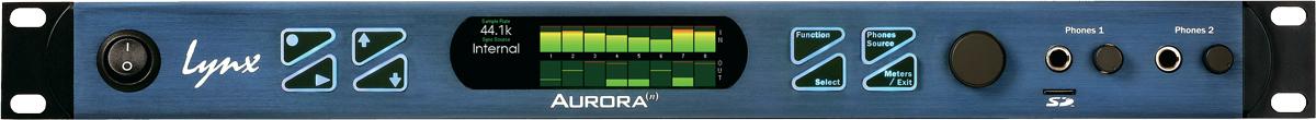 AD/DAコンバーターを搭載したオーディオインターフェース「Aurora(n)」