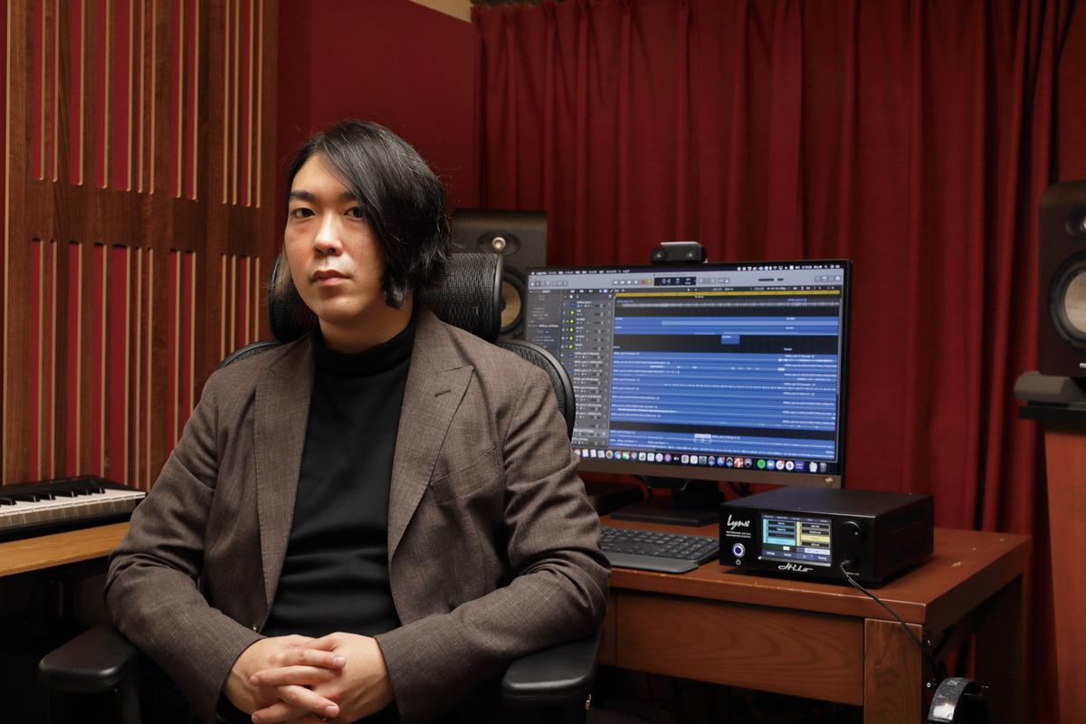 WONKのベーシスト/エンジニア、ゲームサウンドデザイナーとしても活躍する井上幹にHIloを試してもらった