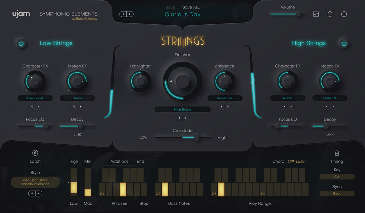 UJAMのストリングス音源「Symphonic Elements Striiiings」が登場