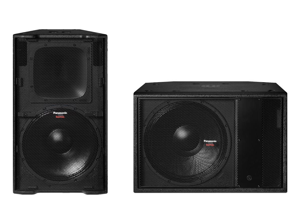 RAMSAより新たなPA用スピーカーWS-HM5000シリーズが発売