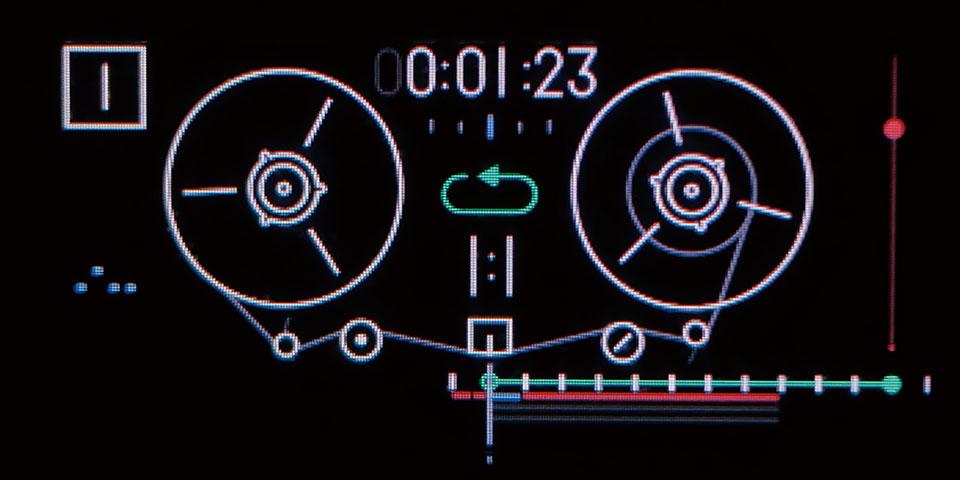 録音/編集可能な4trのTape機能