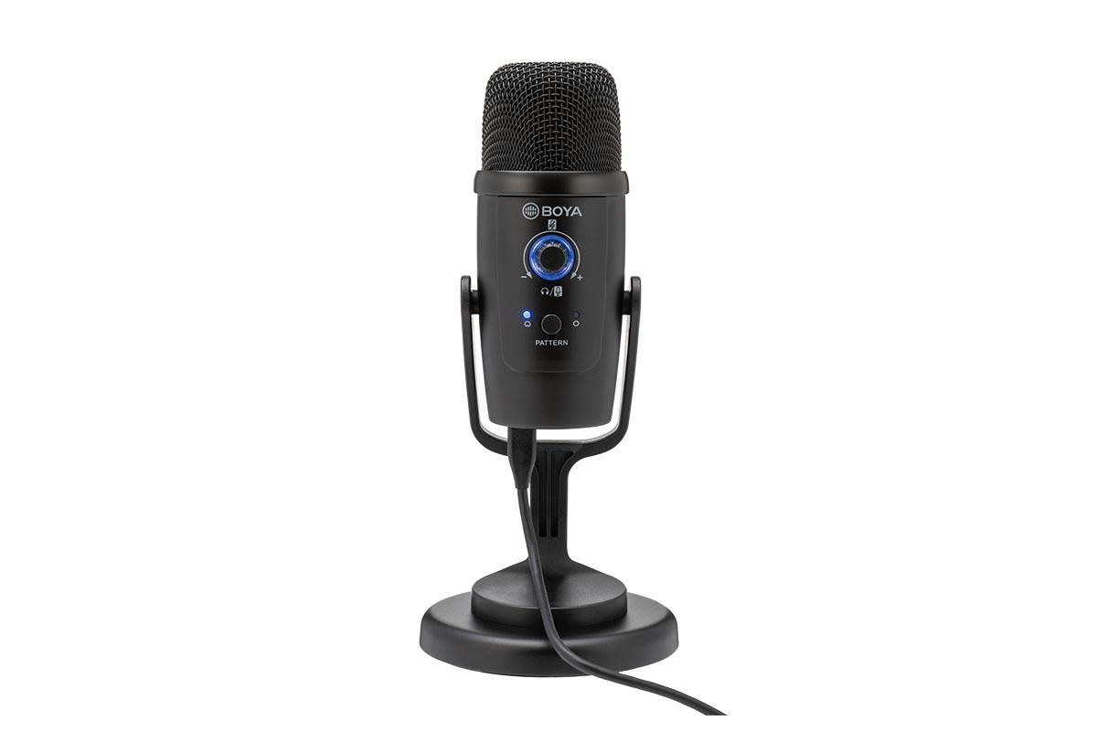 「BOYA BY-PM500」製品レビュー:音楽制作や多様な配信環境に対応する卓上スタンド付きUSBマイク