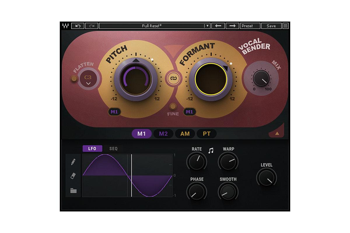 「WAVES Vocal Bender」製品レビュー:モダン・ポップを想定したボーカル・ピッチ/フォルマント調整プラグイン
