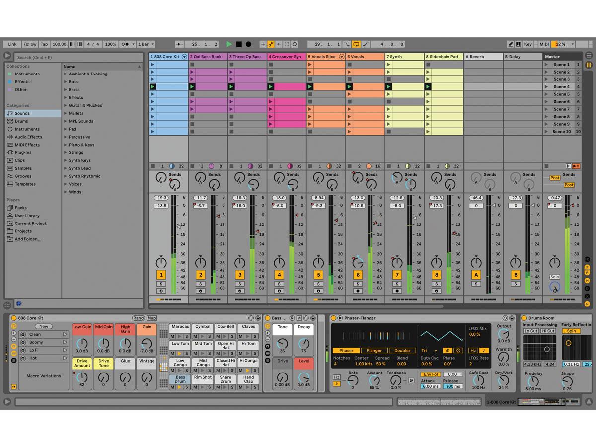 オーディオI/Oなどに付属するABLETON Live Liteが最新バージョン11に