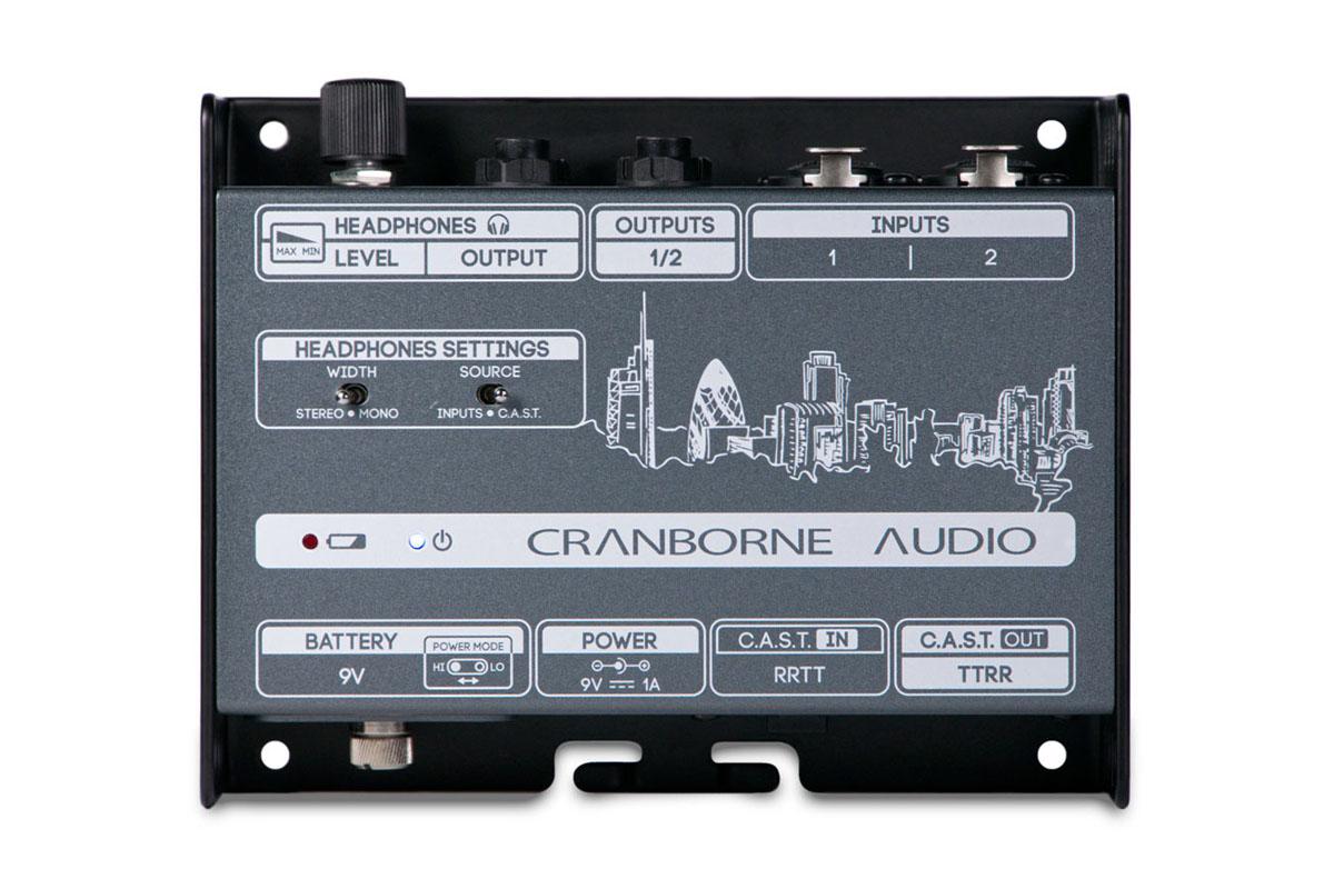 CRANBORNE AUDIOからヘッドフォン・アンプ搭載のC.A.S.T.ブレークアウト・ボックスN22Hが登場