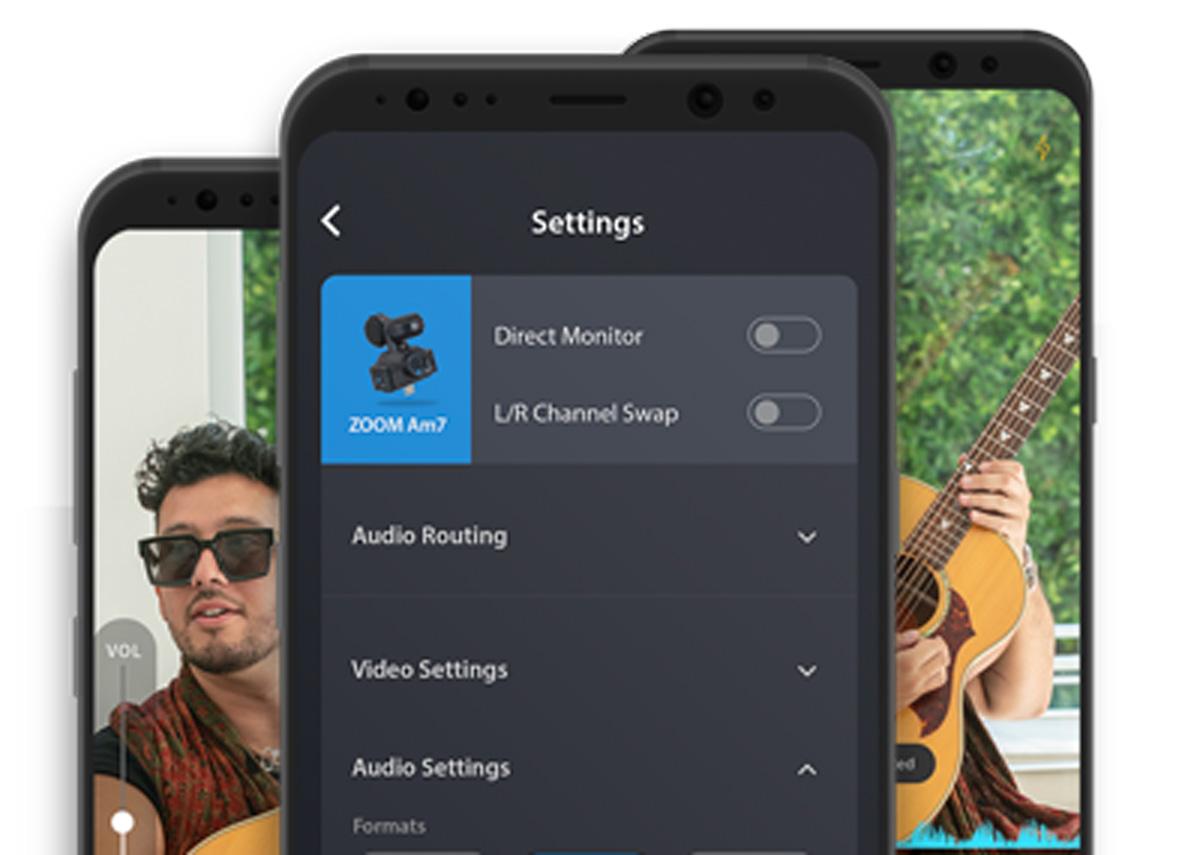 カメラと音声の調整が可能なZOOM Am7用AndroidアプリMobile HandyShareがリリース