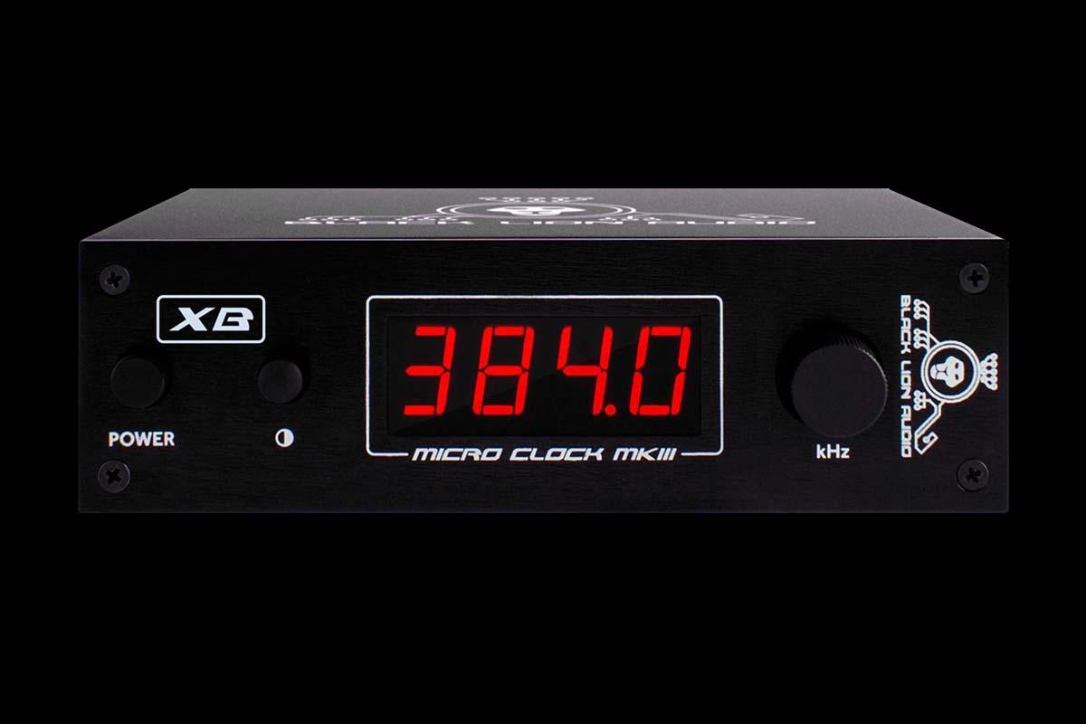 超低ジッターを実現したワード・クロック・ジェネレーター=BLACK LION AUDIO Micro Clock MKIII XBが登場