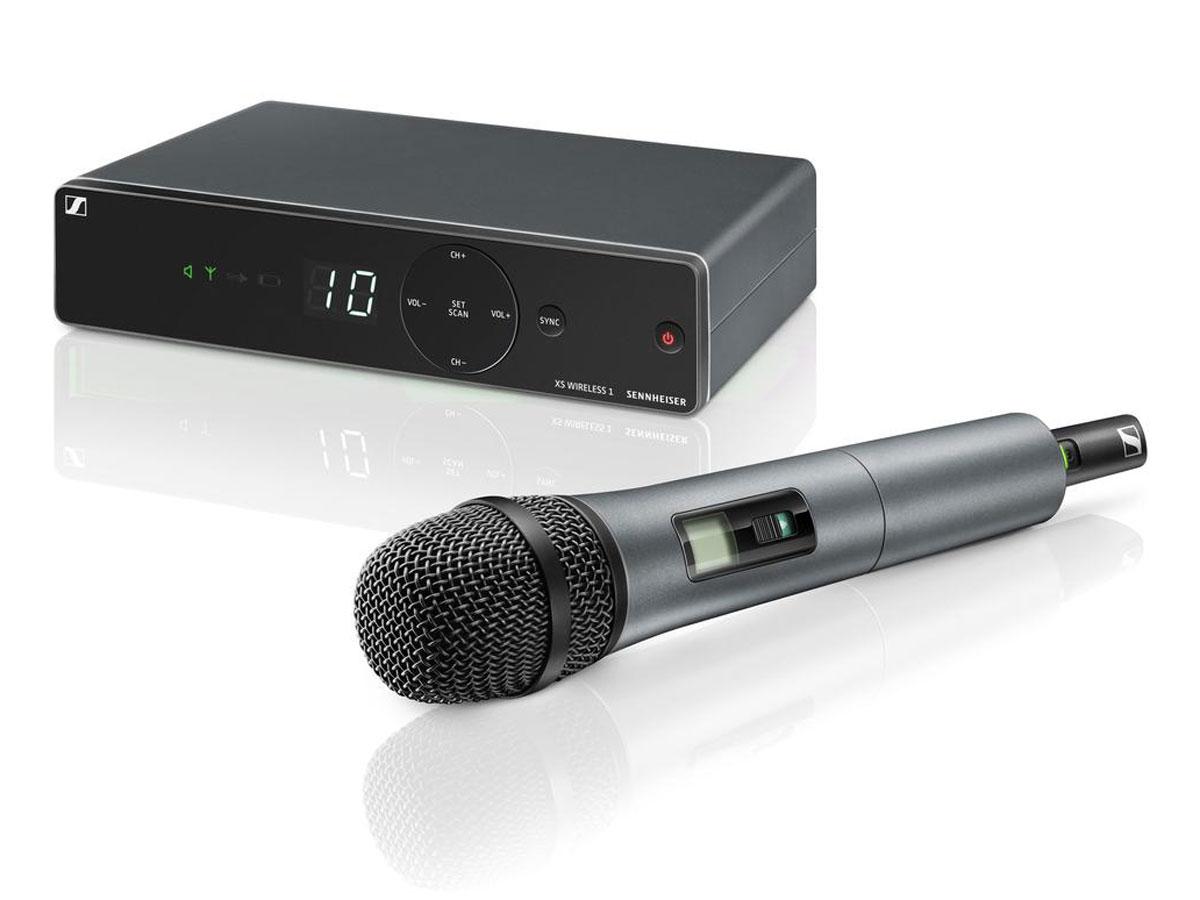 SENNHEISER、免許不要のアナログ・ワイアレス・マイクXS Wireless 1を発売