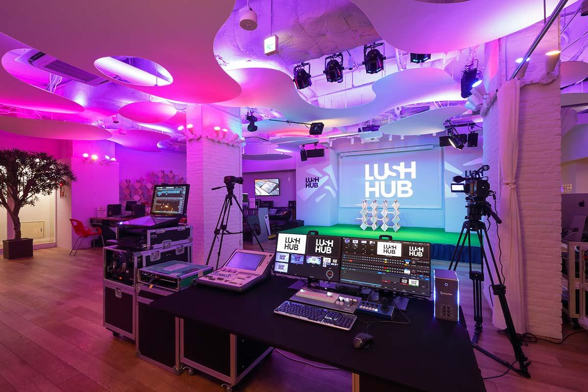 ライブ/配信/エキシビション・スペースLUSH HUBがRock oN SHIBUYA地下に8月12日オープン