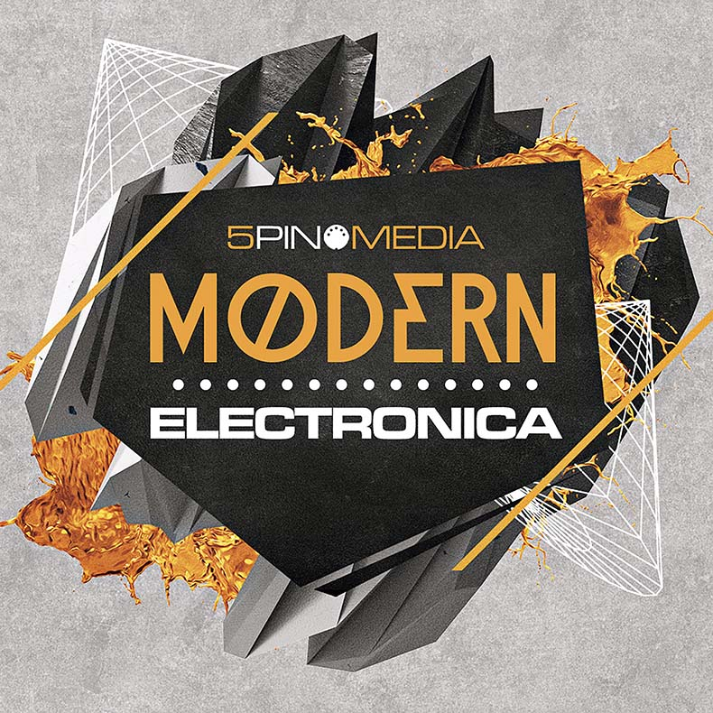 UK/ヨーロッパ系エレクトロニカ向き音源素材「5PIN MEDIA MODERN ELECTRONICA」