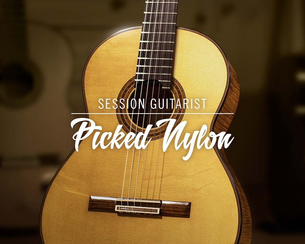 NATIVE INSTRUMENTS、ナイロン弦ギター音源Session Guitarist - Picked Nylonを発売