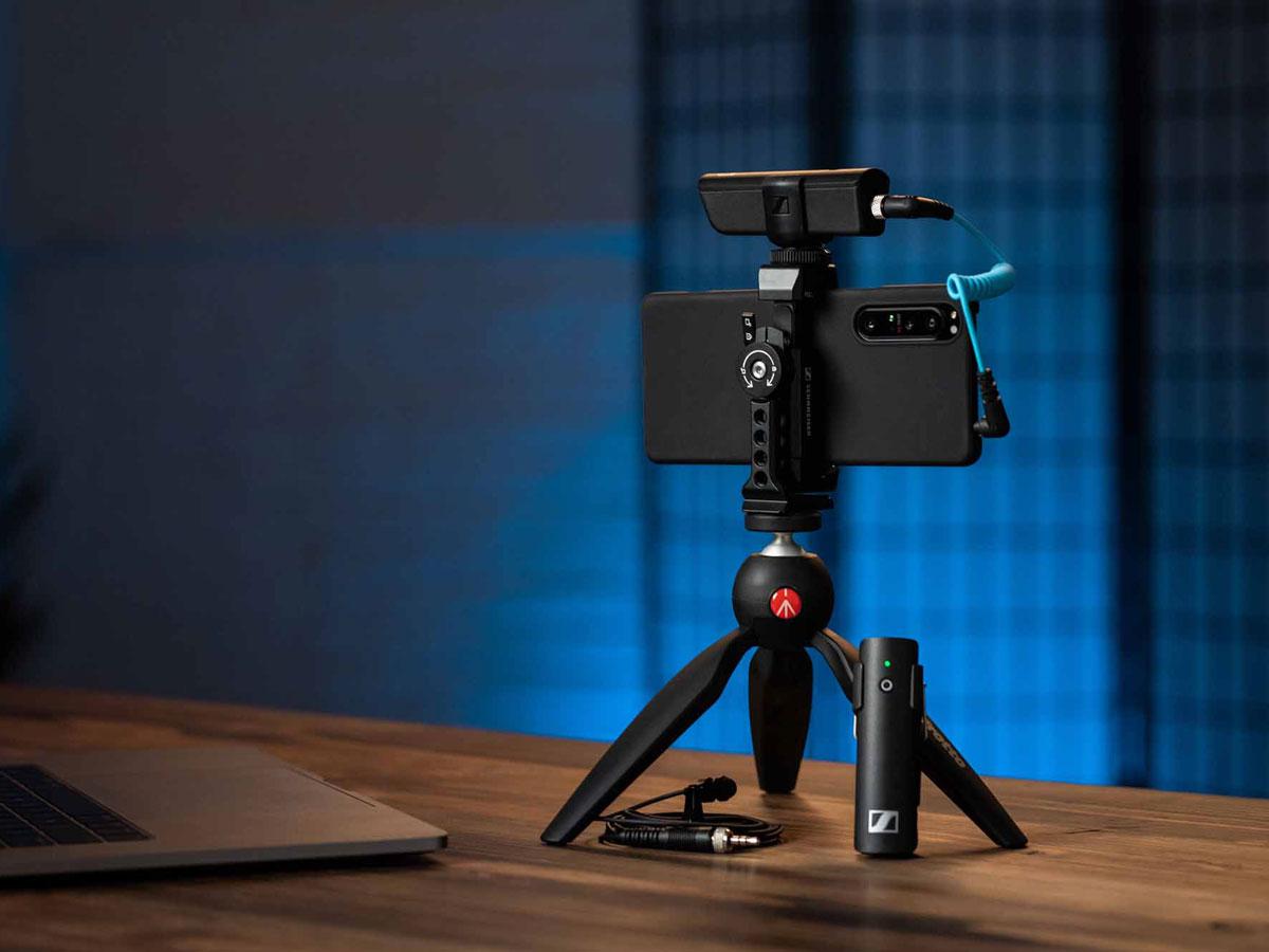 SENNHEISERがスマートフォンでの動画撮影用マイク・セットMobile Kitシリーズの3モデルを発売