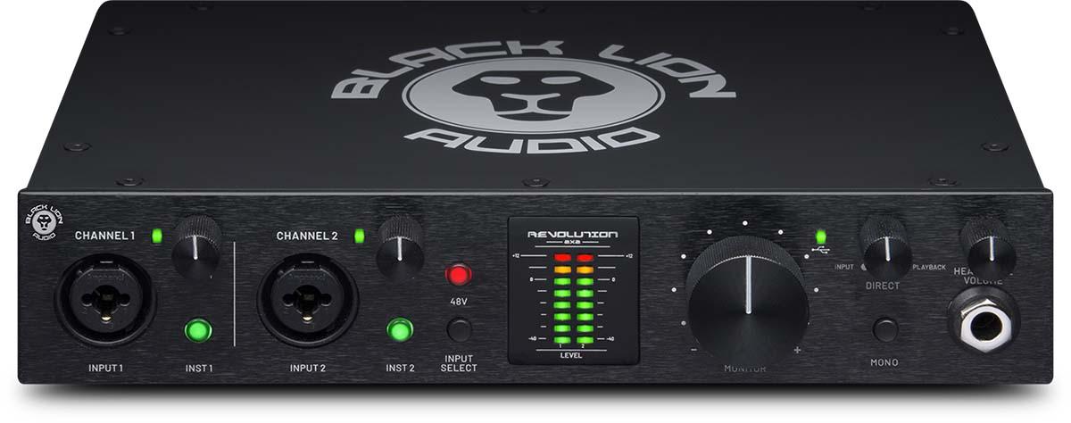 BLACK LION AUDIO初のUSBオーディオI/O、Revolution 2×2を発売