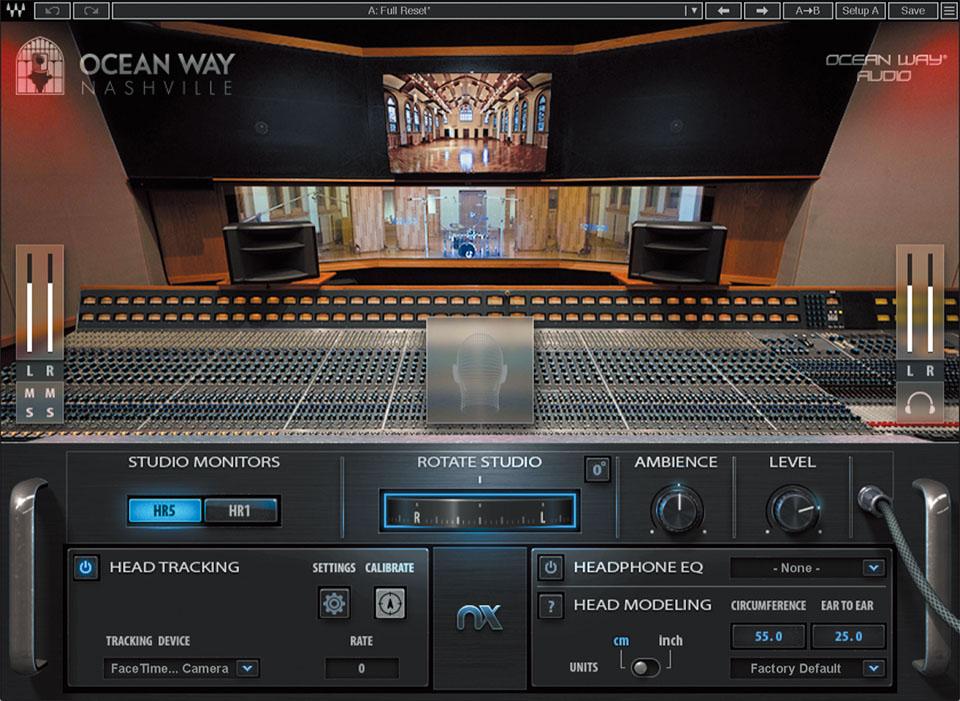 名スタジオのモニター環境をヘッドフォンで再現〜WAVES Nx Ocean Way Nashville