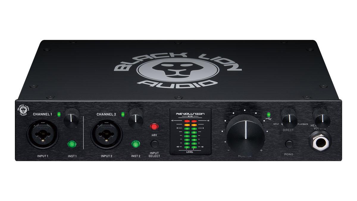 気鋭のブティック・メーカーによるオーディオI/O「BLACK LION AUDIO Revolution 2×2」レビュー
