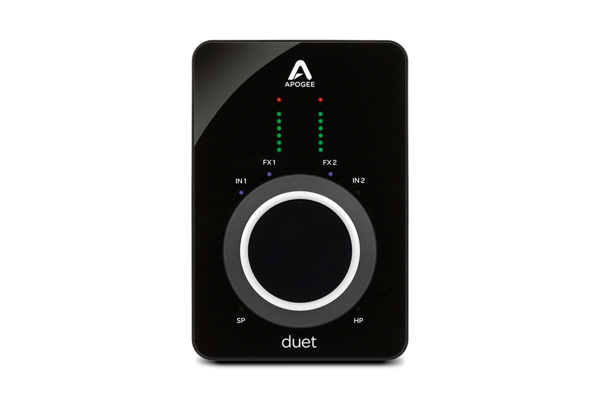 モバイルを視野に入れたDSP内蔵オーディオ・インターフェースAPOGEE Duet 3レビュー
