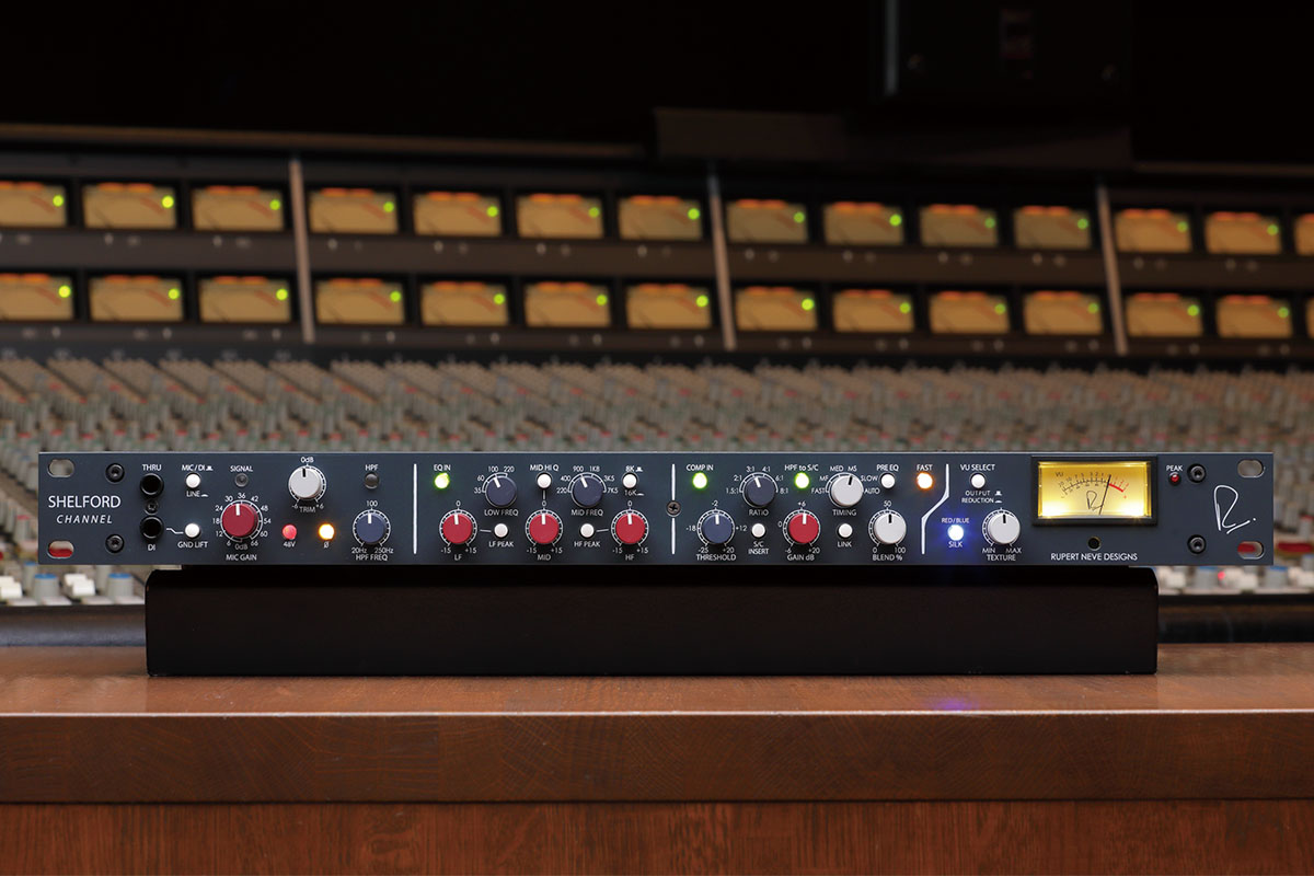 RUPERT NEVE DESIGNS Shelford Channel 〜名機に備わる独自技術を現代向けにアップデートした一台