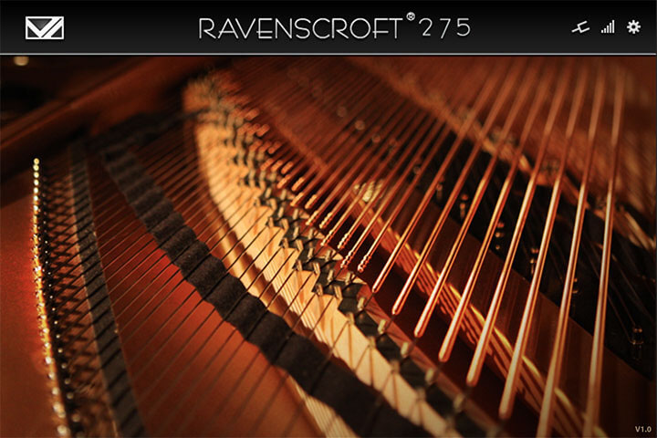 RAVENSCROFTが公認するピアノ専用のソフト音源「VI LABS Ravenscroft 275」