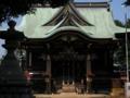 諏訪神社 新宿区 高田馬場