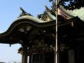 諏訪神社 本殿 新宿区 高田馬場