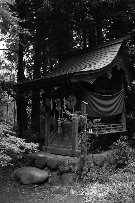 阿伎留神社内末社 大鳥神社