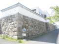 尼崎城模擬石垣 1