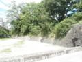 石垣と空堀