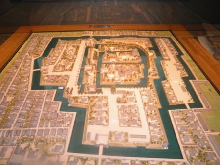 高槻城復元模型