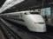 新大阪駅25番線に停車する300系(正面から)