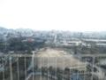 展望台から姫路市街を望む