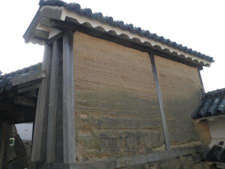 油壁(伝・秀吉時代の遺構)