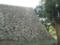 「扇の勾配」とよばれる独特の石垣