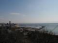 高台から見た須磨の海