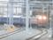 大阪駅10番線に入線する日本海号