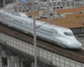 N700系7000,8000番台@新神戸~新大阪間