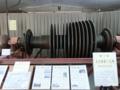 尼崎第二火力発電所で使用されていたタービン