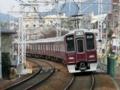 阪急9000系9004F普通梅田行@岡本